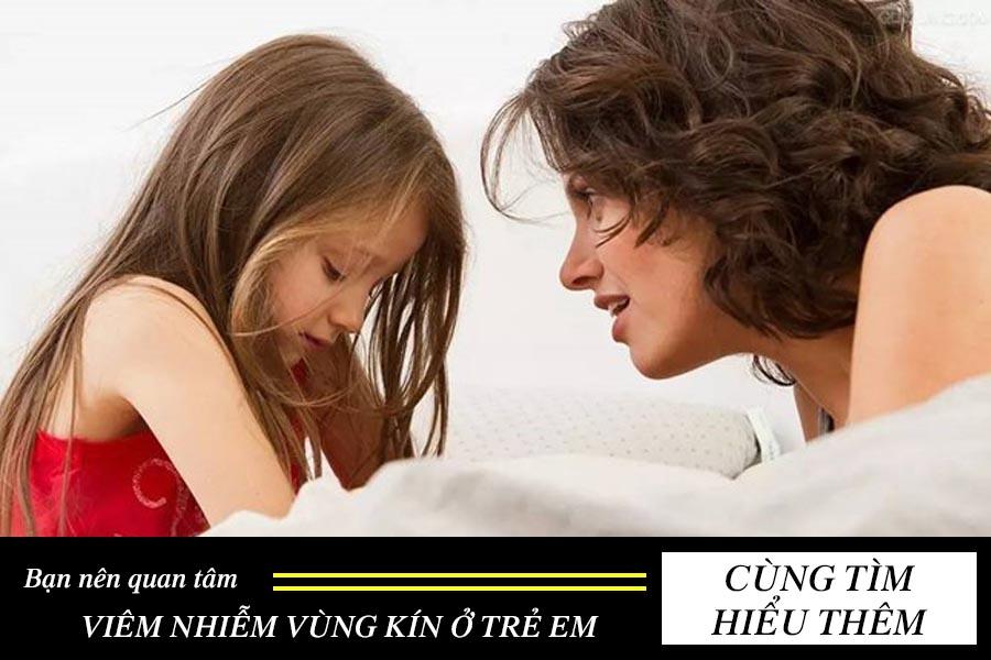 viêm nhiễm vùng kín ở trẻ em