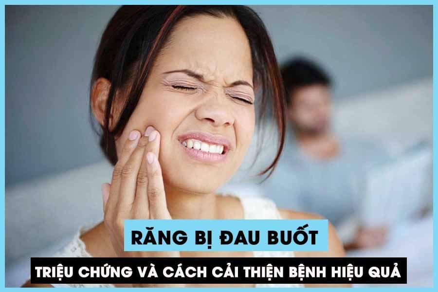 Răng bị đau buốt