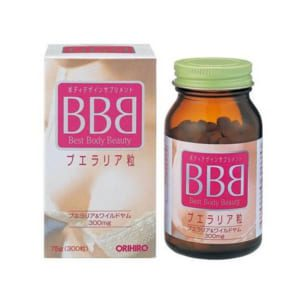 Viên uống tăng vòng 1 bbb Nhật bản